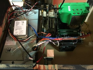 Arcade machine PC internals