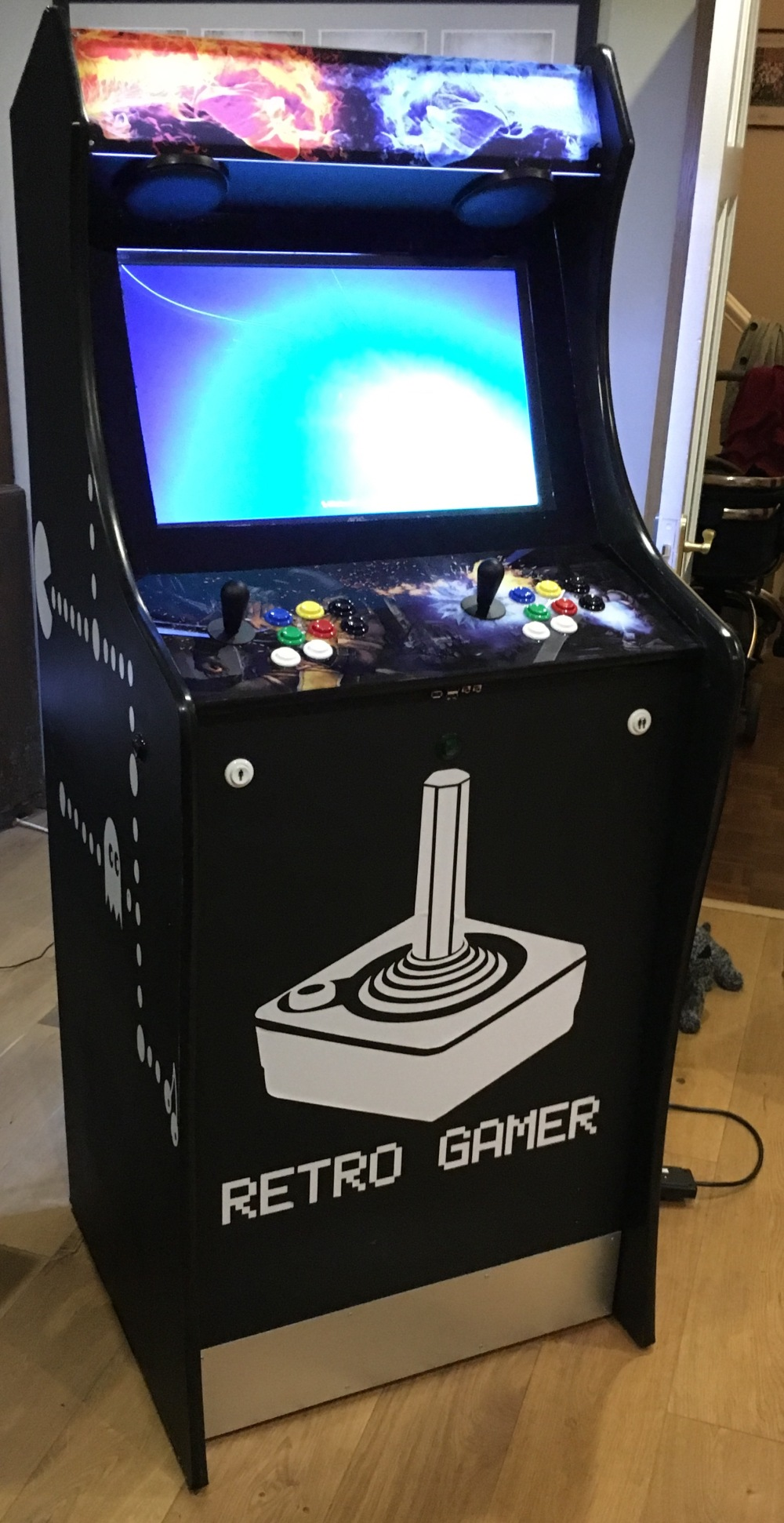 My custom arcade machine