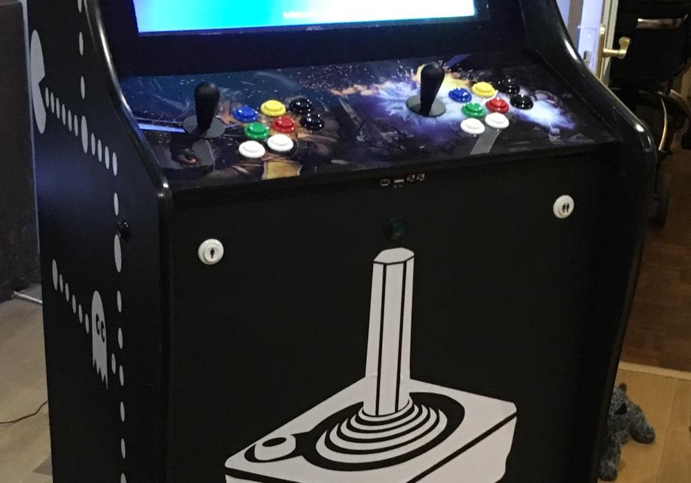 My custom arcade machine